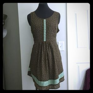 Brown Sundress with Pockets